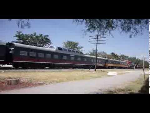Tren Especial de Ferromex pasando por Celaya, Gto