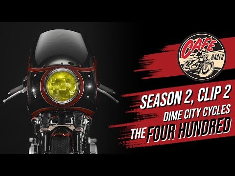 Velocity's Cafe Racer TV Season 2, Clip 2 of Dime City Cycles and The Four Hundred