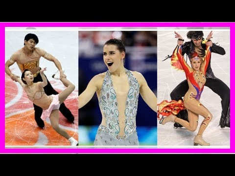 The 30 most risqué figure skating costumes of all time