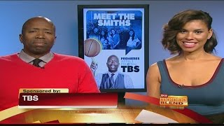 Go Home with NBA Legend Kenny Smith And His Funny Family in Meet the Smiths! Kenny Smith is an NBA Analyst and retired basketball star. His wife, Gwen, is ...