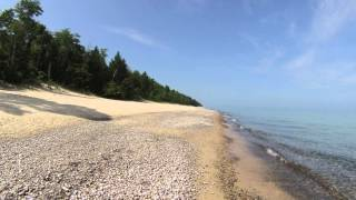 Twelve Mile Beach - Fat Bike Ride - Pictured Rocks National Lakeshore