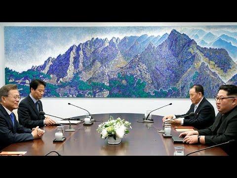 Ν.Κορέα: Οι πρώτες κοινές δηλώσεις Κιμ- Μουν στο πλαίσιο της ιστορικής συνόδου…