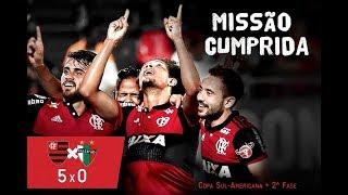Flamengo 5 x 0 Palestino (COMPLETÃO) Melhores Momentos - Copa Sul-Americana 2017