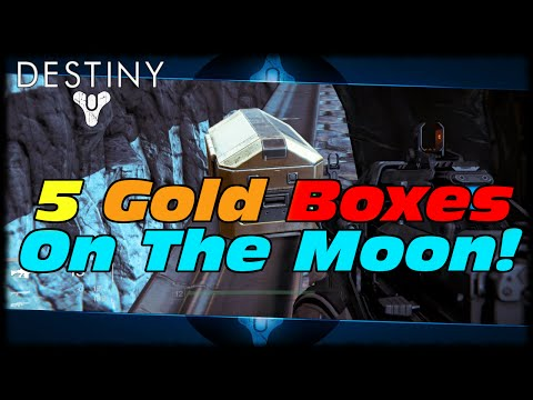LOOT!!! - This Destiny Video Will Show You Where All 5 Golden Loot Chest Can Be Found On The Moon! Destiny Gold Box Location Guide! All 5 Boxes In Old Russia! https://www.youtube.com/watch?v=bNaK-SG7j68...