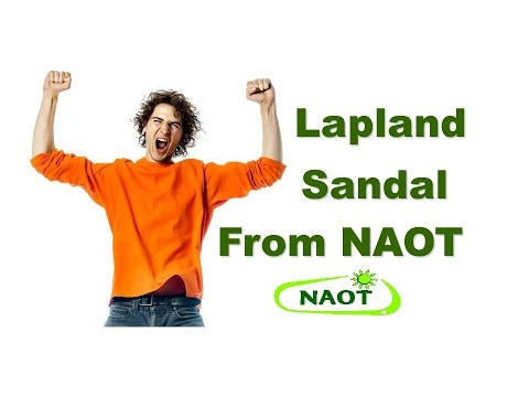 Lapland Sandal from NAOT
