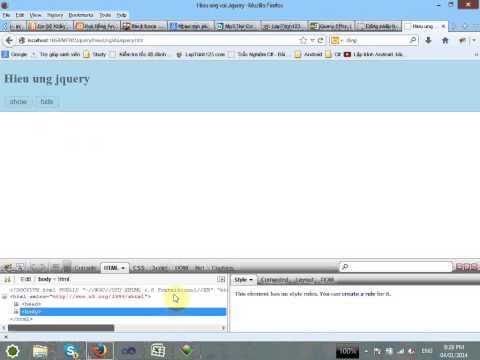 VD04 - Jquery Event Call back