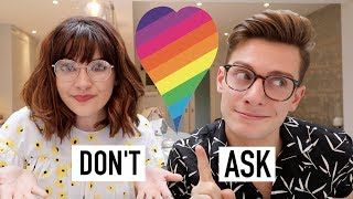 The 10 things not to ask a Gay/Bi person. Thanks to Skittles for giving their rainbow to Pride by launching rainbowless Skittles and ...