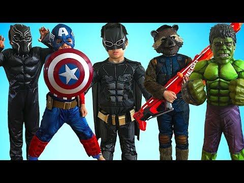 KIDS COSTUME RUNWAY SHOW Superheroes Marvel DC Disney Dress Up Fun With TBTFUNTV