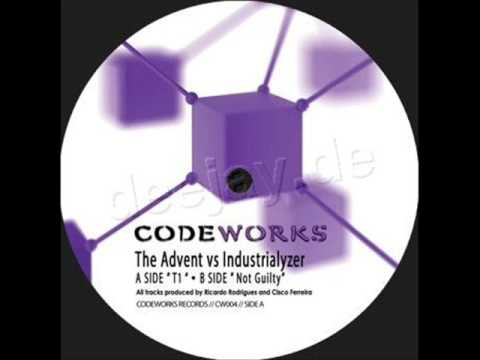 t1 - The Advent & Industrialyzer // T1 / Not Guilty Artist: The Advent & Industrialyzer Label: Codeworks LabelCode: CW04 Format: 12