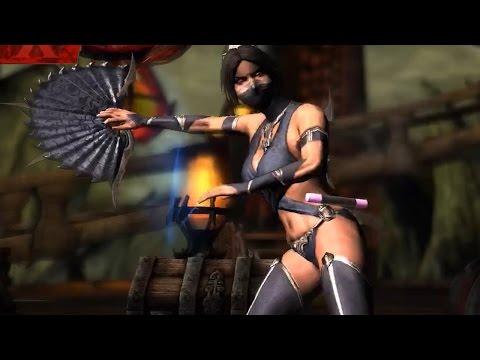 Mortal Kombat X - Mournful Kitana Super Attack Moves [iPad/Android] (видео)