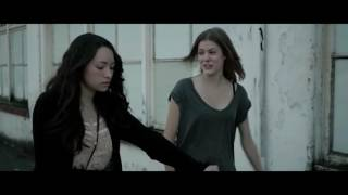 Jodelle Ferland and Chanelle Peloso - Kissing Scene - The Unspoken 2016