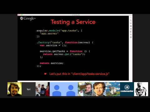 Test-driven development in AngularJS with Yuri Takhteyev of Rangle.io