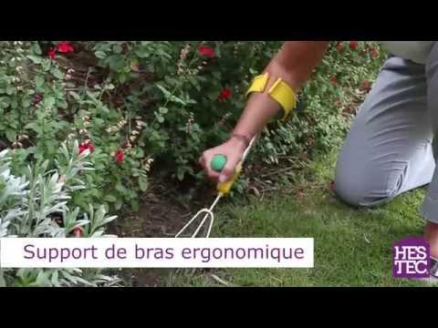 Support bras ergonomique