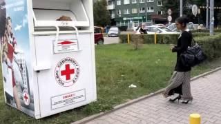 Żeby okradać Czerwony Krzyż to już przegięcie! Osiedlowi nurkowie szukają skarbów!
