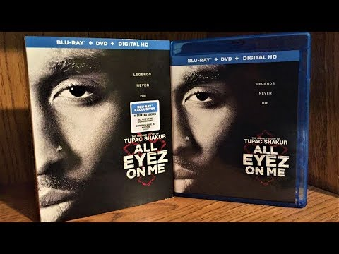 All Eyez On Me Blu-ray Unboxing & Review