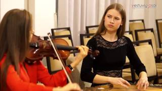 Rod Stewart - Sailing. Cover by Rasa&Lina (Violin&kankles)