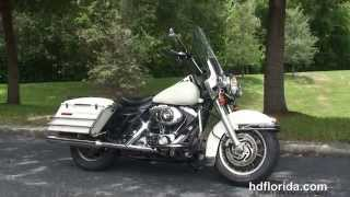 7. Used 2006 Harley Davidson Road King Police Motorcycle for sale - Miami, FL