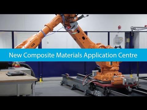 Solvay composites materials application center in Heanor (UK)
