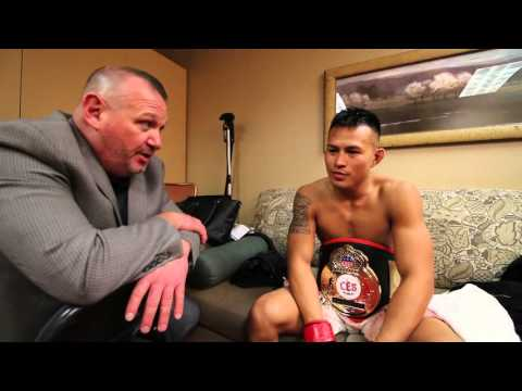 Post fight interview with CES's Scott Rehm!