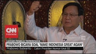 Video Adian:  Prabowo Identik Dengan Trump, Prabowo Jawab Alasan dibalik 'Make Indonesia Great Again' MP3, 3GP, MP4, WEBM, AVI, FLV Januari 2019