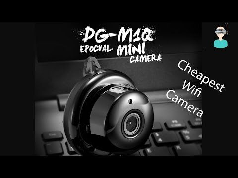 Digoo DG-M1Q 960P 2.8mm Wireless Mini WIFI Night Vision Smart Home Security IP Camera Onvif Monitor
