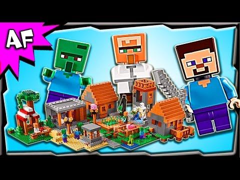 Vidéo LEGO Minecraft 21128 : Le village
