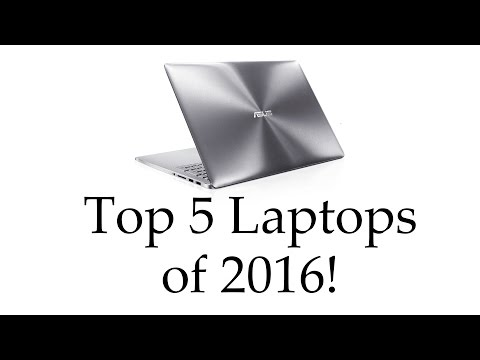 Top 5 Best Laptops (2016) – from gaming to ultrabooks!