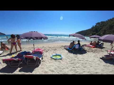 Paradise beach Tasos, jul 2020-Zemunci na Tasosu