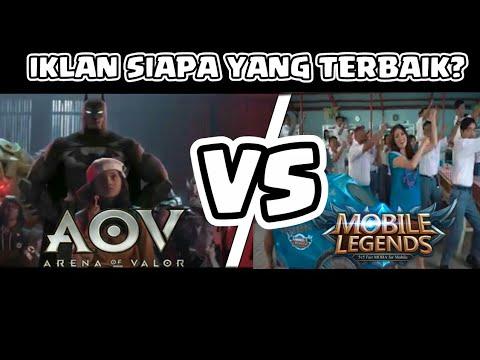 Download Video IKLAN AOV VS IKLAN MOBILE LEGEND!! MANA YANG PALING BAGUS?
