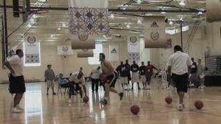 Miles Plumlee - Around the Key Dunking Drills