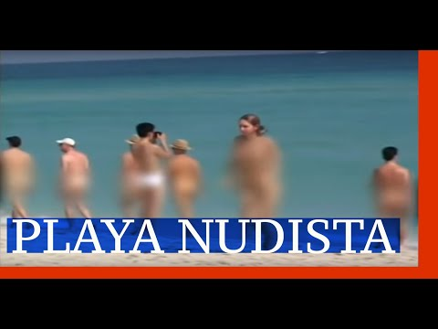 nudista - Visitamos una playa nudista en Miami.