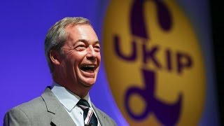 Nigel Farage speaks at a Donald Trump rally.SUBSCRIBE for more at http://bit.ly/1qC9RqVFollow us on Twitter at https://twitter.com/Daily_E... Follow us on Facebook at https://www.facebook.com/Da...Check out the Express website at http://www.express.co.uk/