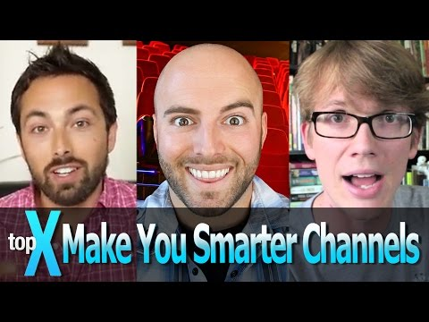 , title : 'Top 10 YouTube Make You Smarter Channels  -  TopX Ep.13'