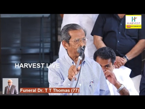Funeral Dr. T T Thomas (77)
