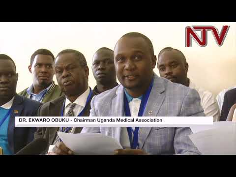 Uganda doctors demand equal pay with Cuban doctors