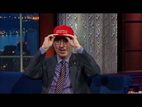 Stephen Colbert and John Oliver Discuss Donald