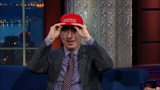 Video John Oliver Never Thought He'd Have To Care About Trump MP3, 3GP, MP4, WEBM, AVI, FLV Januari 2019