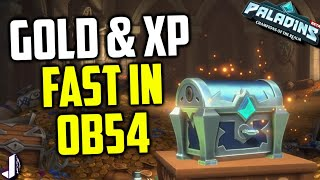 Paladins OB54 has brought lots of nerfs and buffs, new champion Lian and essence grind improvements. But also it has made bot or training matches give gold and XP past level 13 meaning you can grind fast with PVE games. I cover the change and some tips here! Tyra Dire Wolf Gameplay.  Giving away Steam Demon Androxus, Realm Pack & Summer Chest - https://gleam.io/59532/1x-realm-pack-1x-androxus-steam-only-body-1-x-summer-chestFollow me - https://twitter.com/JoshinoYTSupport me - https://www.patreon.com/JoshinoCome chat - https://discordapp.com/invite/joshino