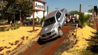 Test Drive Volkswagen Amarok Agrishow 2011