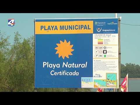 El Balneario Municipal recibió la certificación del LATU como Playa Natural
