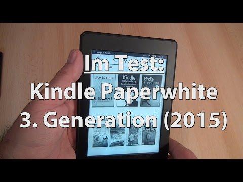Test: Neuer Kindle Paperwhite 2015 (3rd Gen) - Caulius probiert es aus