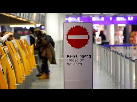 Χάος στα αεροδρόμια της Γερμανίας