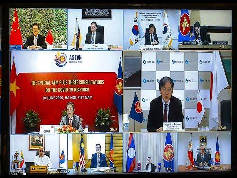 Hội nghị AEM+3 trực tuyến: Ra Tuyên bố chung cụ thể hóa hành động ứng phó Covid-19