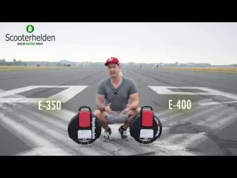 Monowheel E400, 25km/h,  erste Fahrt, Test   Review & Testdrive
