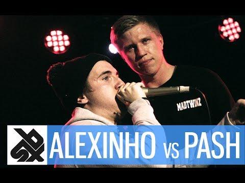 ALEXINHO vs PASH  |  Grand Beatbox 7 TO SMOKE Battle 2017  |  Battle 13