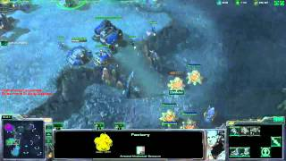 CrunCher's in game view Team Complexity (CrunCher, CatZ and TriMaster) vs. gorillanice, tQMewtwo and sharknice CrunCher's...