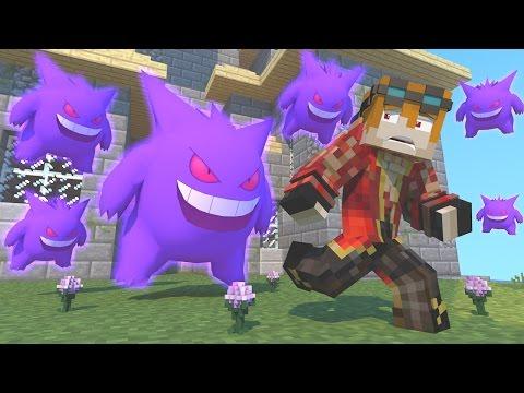 Minecraft : GENGAR DA CONFUSÃO - POKEMON DA SORTE ‹ MayconLorenz ›