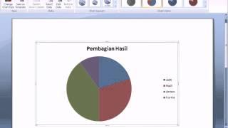 Tutorial Cara Membuat Chart di Microsoft Word 2007