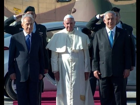 Pope Francis in Israel - The First Day