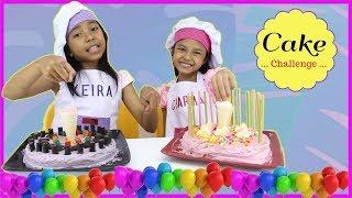 Video CAKE CHALLENGE !!! ♥ Cake Decorating For Kids Special 500K Subscribers MP3, 3GP, MP4, WEBM, AVI, FLV November 2018